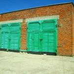 Школьный гараж